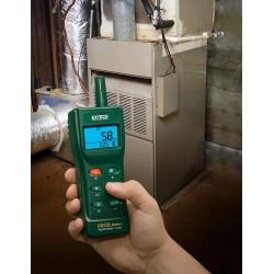 Medidor profesional de CO2 y CO Extech CO260 portátil
