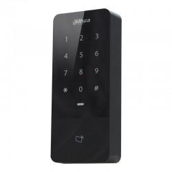 Control de accesos Dahua por tarjeta Mifare y teclado apto para exterior