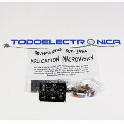 Kit de ampliación para decodificador de cintas Macrovisión