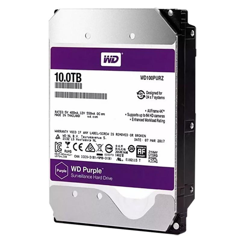 """Disco duro HDD de 10TB especial para videovigilancia, SATA y de 3.5"""""""