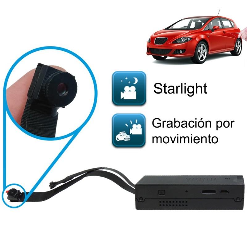Mini cámara espía profesional FullHD 1080 con módulo de cámara externo