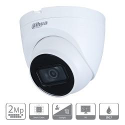 Cámara de vigilancia IP Dahua de 2 mpx y lente de 2.8mm con IR de 30 m
