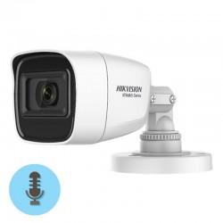 Cámara Hikvision HWT-B120-MS de 2 mpx con micrófono integrado