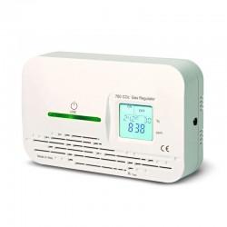 Detector de CO2 con aviso y salida relé para sistema de ventilación