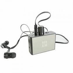 Micrófono espía de pared de alta sensibilidad con sonda y auriculares