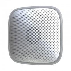 Sirena para Exterior AJAX Inalámbrica bidireccional Grado II Color Blanco Máximo 113 dB Sin Cuotas