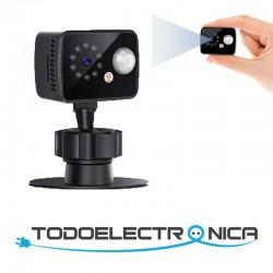 Mini cámara espía con lente...