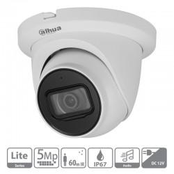 Cámara de vigilancia Dahua HAC-HDW1500TMQ-A-S2 con micrófono