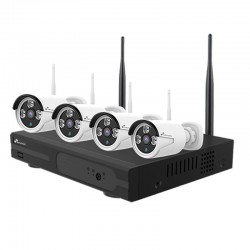Kit de 4 Cámaras WiFi Nivian y NVR ampliable hasta 8 cámaras