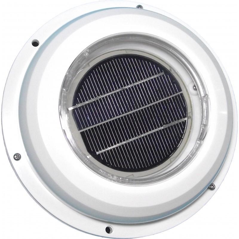 Extractor - Ventilador solar con cubierta ABS C-0702
