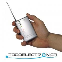 Detector de micrófonos y cámaras espía barato