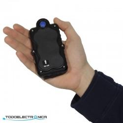 Localizador GPS 3G tipo lapa, con tecnología: GSM+GPS+WiFi y micro