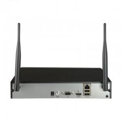 Grabador WiFi de 8 canales hasta 4 mpx y 40 Mbps de Hikvision - HWN-2108MH-W