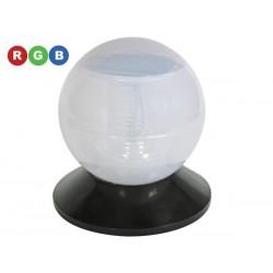 Lámpara solar con 3 funciones y resistente al agua