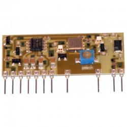 Emisor FM 433 Mhz. SAW para audio aurel | C-0505