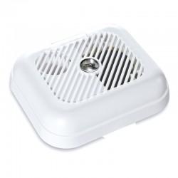 Detector de humo con alarma avisadora autónomo