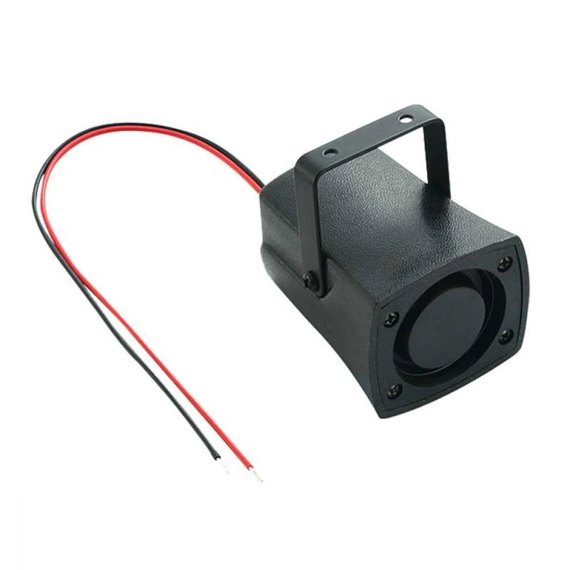 Sirena para alarmas de seguridad cableada con generador de ruidos (4-6V)