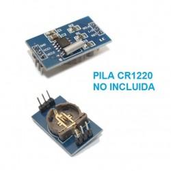 Módulo reloj DS1302 para Funduino y Arduino