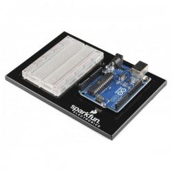 Portatarjetas de Arduino y breadboard