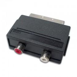 CONECTOR SCART MACHO A 2 x...