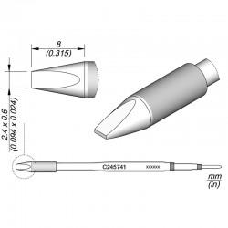 Cartucho de cincel C245-741 para soldador JBC T245
