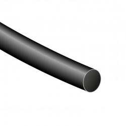 Tubo termorretráctil de 120cm - color negro y diámetro a elegir