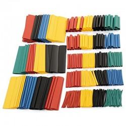 Kit de 328 tubos termorretráctiles 2:1 de 5 colores y diámetros variados