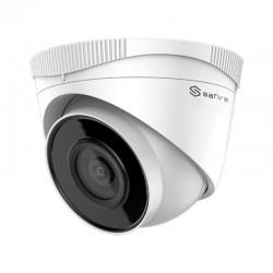 Cámara de vigilancia IP PoE de 2 mpx y 2.8 mm con micrófono integrado SF-IPT943HA-2E