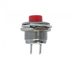 Pulsador OFF-(ON) color rojo - R1820B