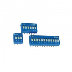 Interruptor DIP 8 posiciones - DS-8