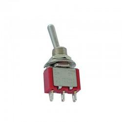 Interruptor de palanca SPDT vertical ON-ON - 8013