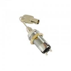 Pulsador de llave 1P OFF-(ON) (SPST) - KS7