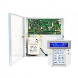 Kit Nº2 Alarma cableada Paradox Spectra SP5500 Central, caja y teclado