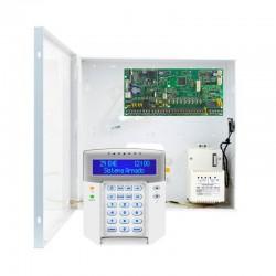 Kit alarma cableada Paradox SP6000 de 8 zonas Grado 2 con central, caja y teclado