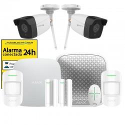 Kit de alarma Ajax completo para hogar o negocio con sirena exterior