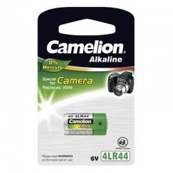 Pila alcalina 4LR44 de 6V (0% mercurio) de Camelion
