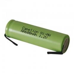 Batería recargable 600RSLFMC conexión de soldadura