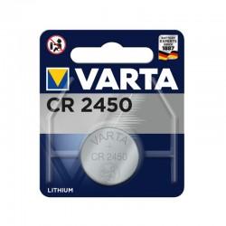 Pila de botón CR2450 de 3.0V-560mAh (1 unidad) Varta