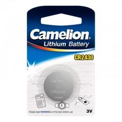 Pila de botón CR2430 de 3.0V-280mAh (1 unidad) DL2430, 5011LC