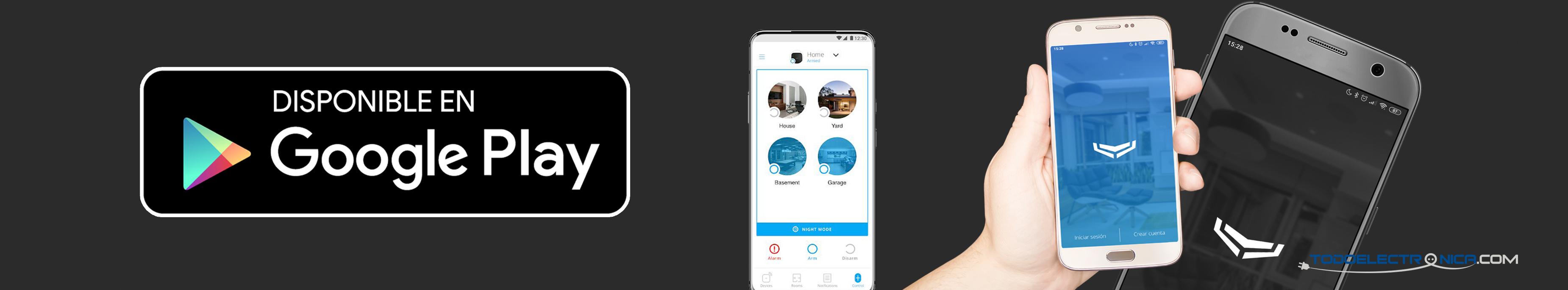 Descarga de aplicación para alarma Ajax Android