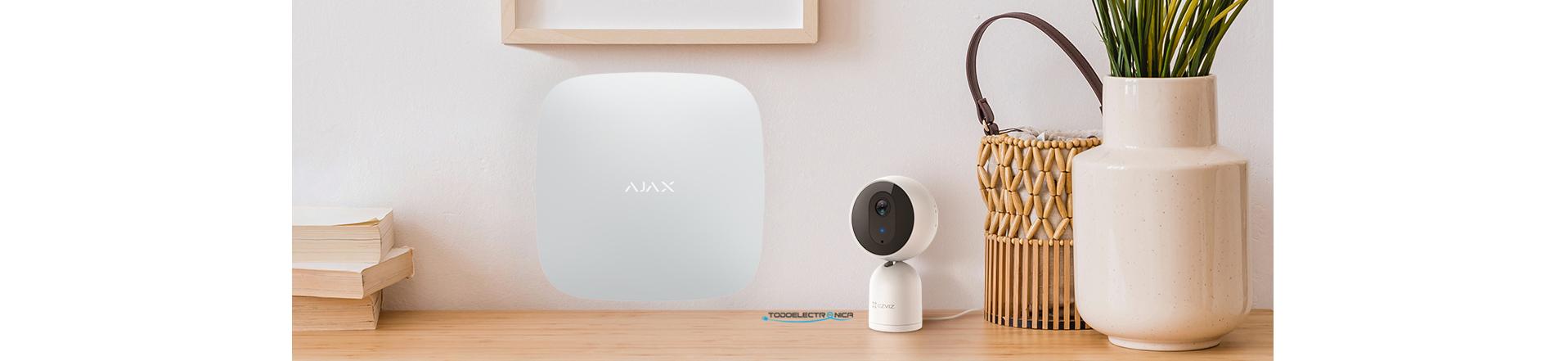 Alarma Ajax con cámara de vigilancia EZ-C1T