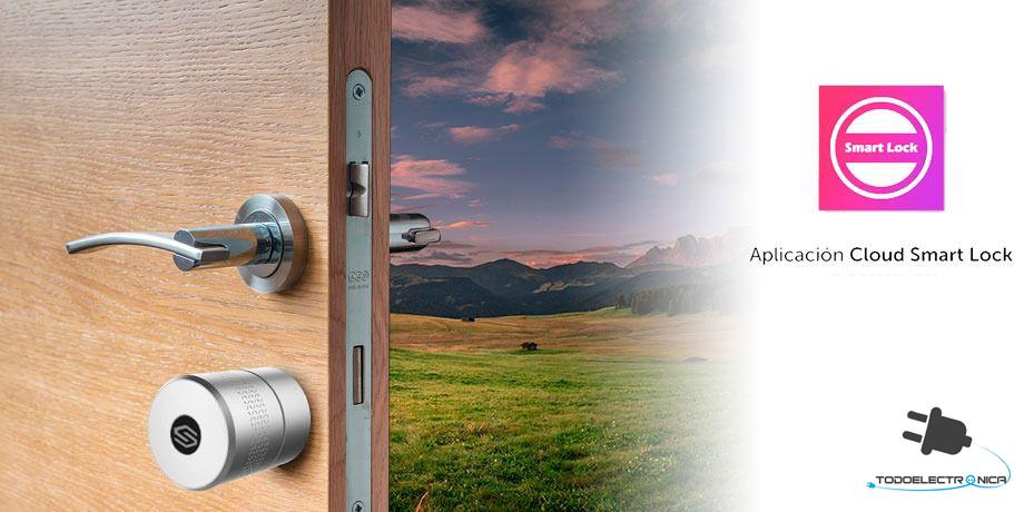 Cerradura inteligente bluetooth con aplicacion gratuita